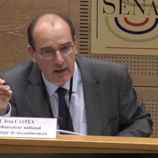 Audition de Jean Castex - Ma question sur les écoles (Covid-19)