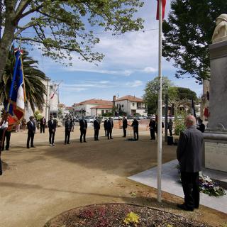 Dax, Tyrosse, Capbreton I Cérémonie de commémoration de la Victoire du 8 mai 1945