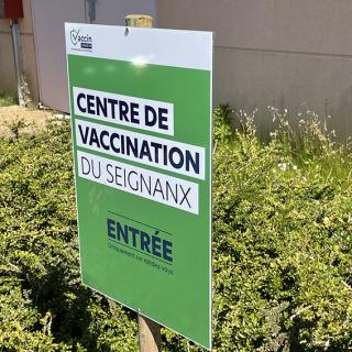 Soustons - St Martin-de-Seignanx | Visite de deux nouveaux centres de vaccination landais