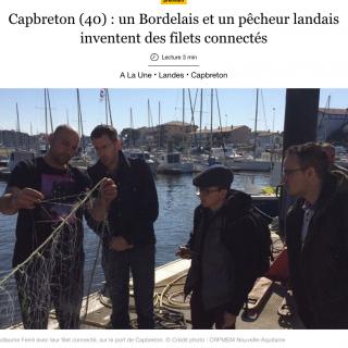 Capbreton : des filets de pêche connectés pour réduire l'impact environnemental