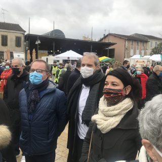 Mont-de-Marsan : rassemblement contre la loi sécurité globale
