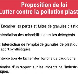 Lutte contre la pollution plastique