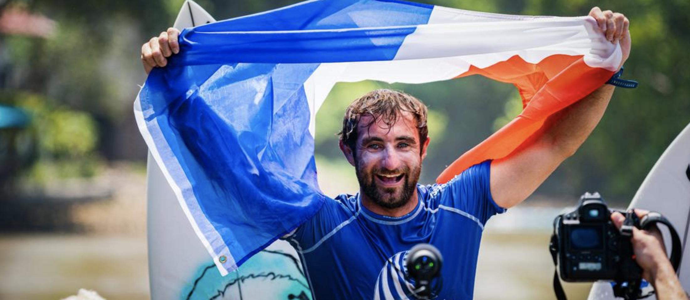 """Featured image for """"L'écho des Landes I Un surfeur landais sacré champion du monde"""""""