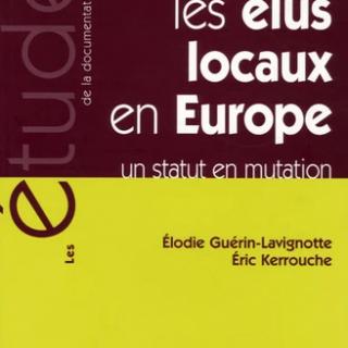 Les élus locaux en Europe un statut en mutation