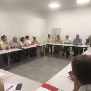 Retour sur la rencontre avec les élus de la communauté de communes d'Aire-sur-l'Adour