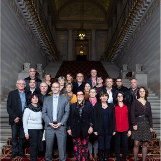 Des élus landais en visite au Sénat