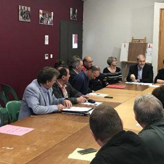 Rencontre avec les élus des Communautés de communes du Pays Morcenais et du Pays Tarusate