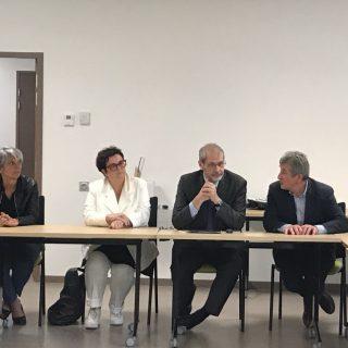 Rencontre avec les élus de la Communauté de communes du Pays d'Orthe et Arrigans